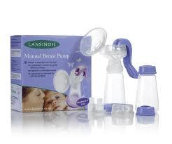 lansinoh manual breast pump assembly