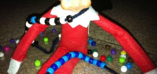 Rascal Elf on the Shelf