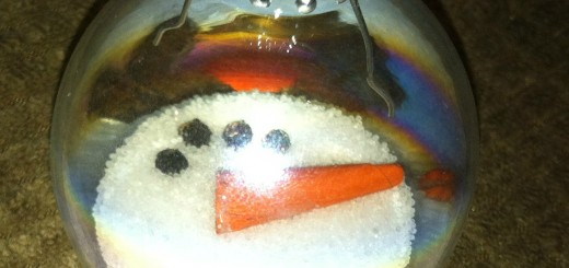Frosty Snowman Christmas Ornament