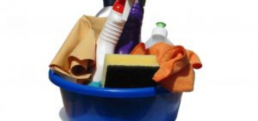 Cleaning Products for Cleaning the Living Room and Kitchen