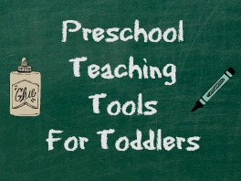 Preschool Teaching Tools For Toddlers