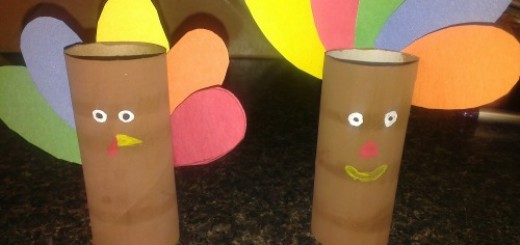 DIY Toilet Paper Roll Turkey Craft Idea