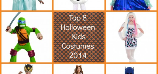 Top 8 Halloween Costumes for Kids 2014