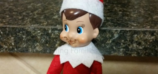 Elf on Shelf Eating Cookies