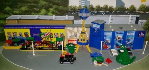 LegoLand Discovery Center and SeaLife Replica