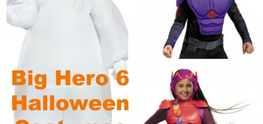 Big Hero 6 Halloween Costumes for Kids