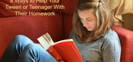 8 Ways to Help Your Tween or Teenager With Their Homework