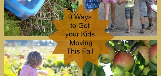 9 Ways to Get your Kids Moving This Fall