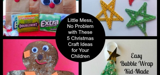 Little Mess, No Problem with These 5 Christmas Craft Ideas for Your Children
