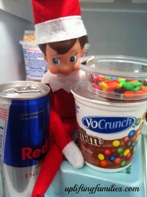 Rascal was Found Sipping on Red Bull and Eating M&Ms