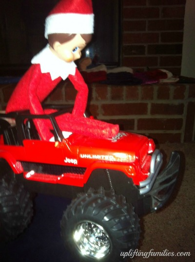 Rascal Elf on the Shelf