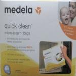 Medela Quick Clean Steam Bags Breast Feeding