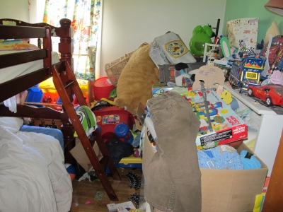 Bedroom Full Of Junk