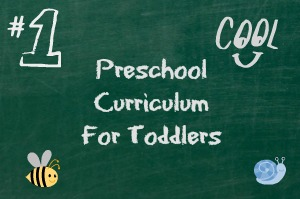 Preschool Curriculum for Toddlers 1