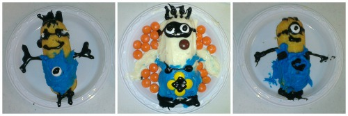 DIY Minion Twinkies Decorated