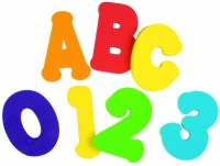 Foam Letters and Numbers Provide Hours of Bathtime Entertainment Gift Ideas for Children