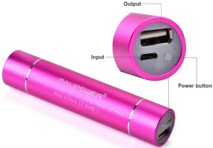 RavPower Lipstick Power Pack Cell Phone Charger