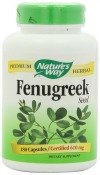 Natures Way Fenugreek Seed 610 mg