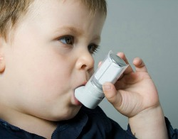 Young Child with Asthma