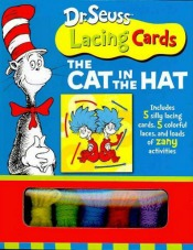 Dr Seuss Lacing Cards Cat in the Hat