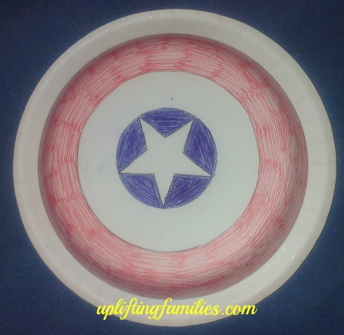 DIY Captain America Shield