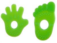 Green Simba Scented Teething Ring Set