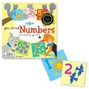 eeboo Preschool Numbers Memory Game