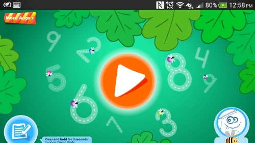 Montessori Learning 123 Numbers App
