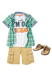 Nature Hike Outfit for Boys