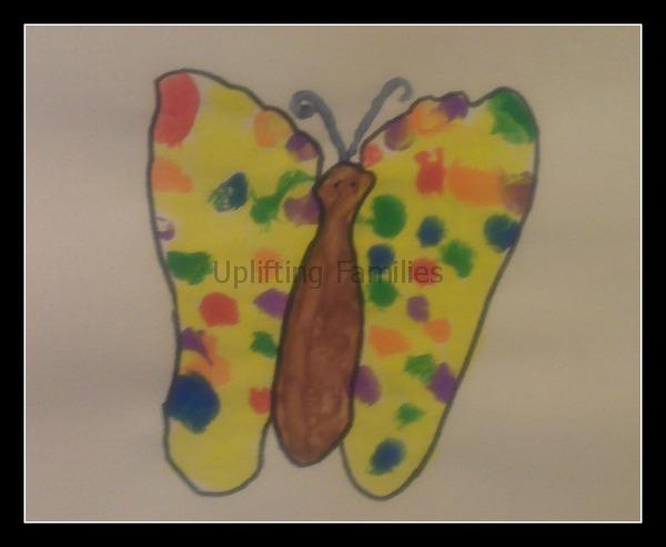 Foot Print Butterflies