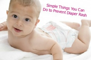 Simple Things You Can Do to Prevent Diaper Rash