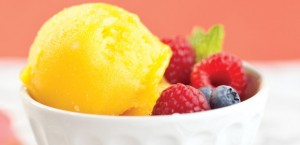 Swap Ice Cream for Sorbet