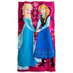 Elsa and Anna Frozen Bath Towel