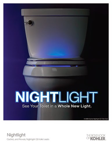 Kohler Night Light Toilet