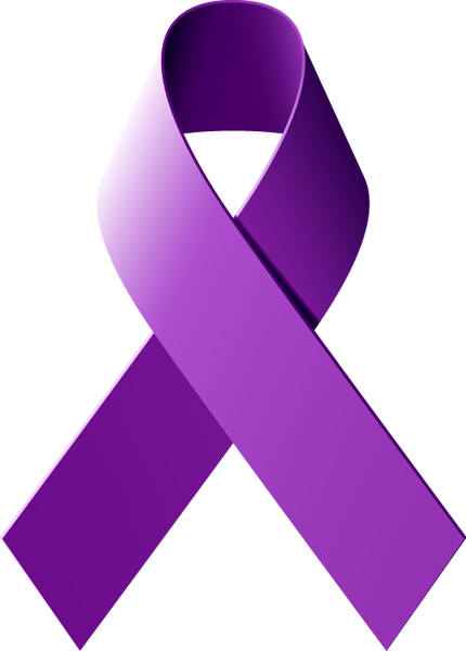 Purple Ribbon Fibromyalgia