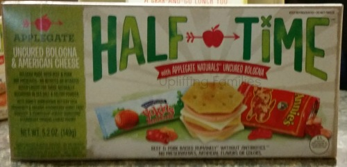 AppleGate Half Time Bologna and American Cheese