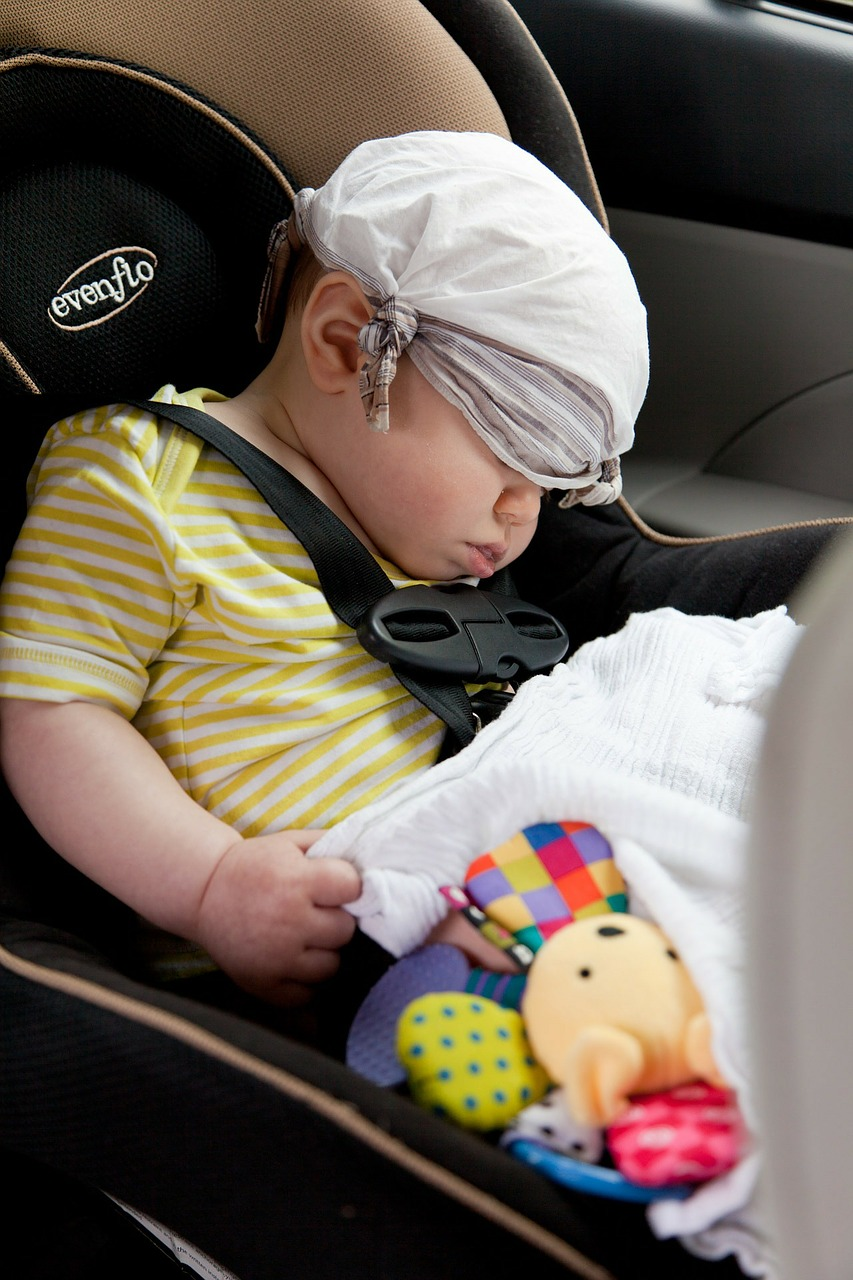 Traveling with a Newborn to Eight-Month-Old Baby