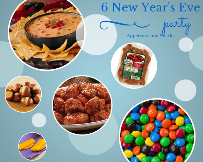 6 New Year's Eve Party Appetizers and Snacks