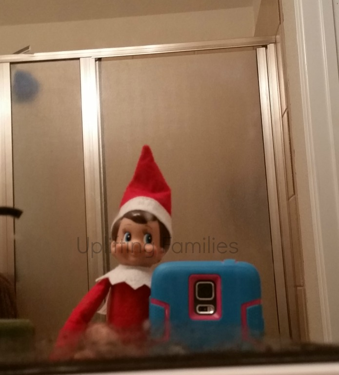 Elf on the Shelf Takes Selfies