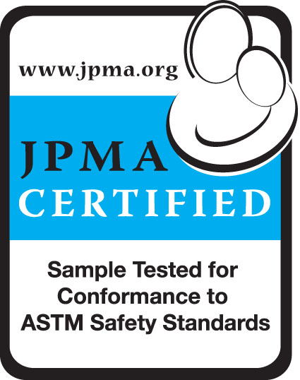 JPMA-Certification-Logo-Sample-Tested-for-Conformance-to-ASTM-Safety-Standards