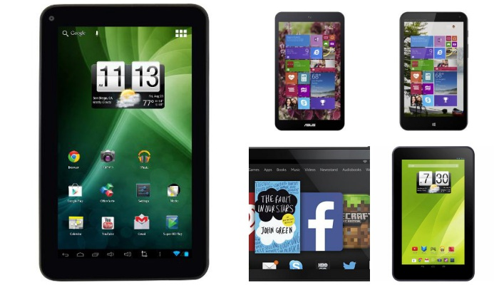 Top 5 Tablets Under $150 for Kids-collage