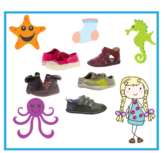Cute Camper Brand Shoes for Toddlers and Kids
