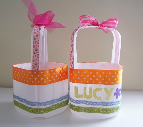 How to make an eco friendly easter basket negle Image collections