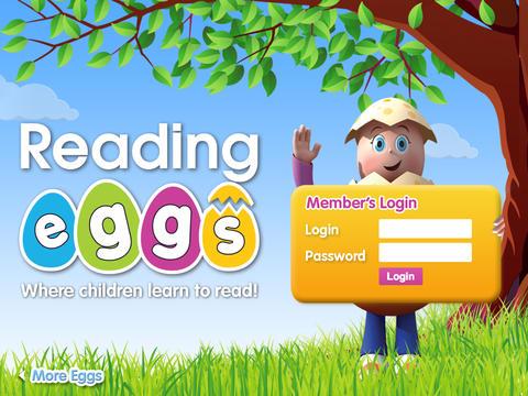 Reading Eggs Student