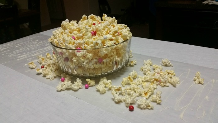 Sweet n Salty Valentine's Day Popcorn