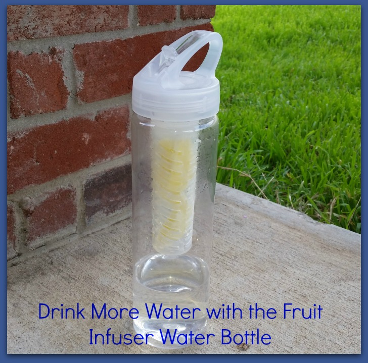 Drink More Water with the Fruit Infuser Water Bottle