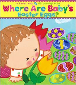 Whare Babys Easter Eggs Book