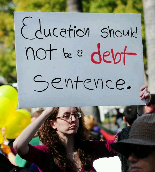 Student Debt - Life Sentence of Poverty for Families