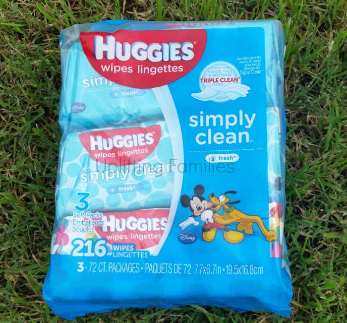 Huggies Simply Clean Wet Wipes