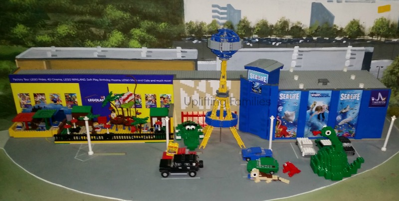 LegoLand Discovery Center and SeaLife Replica